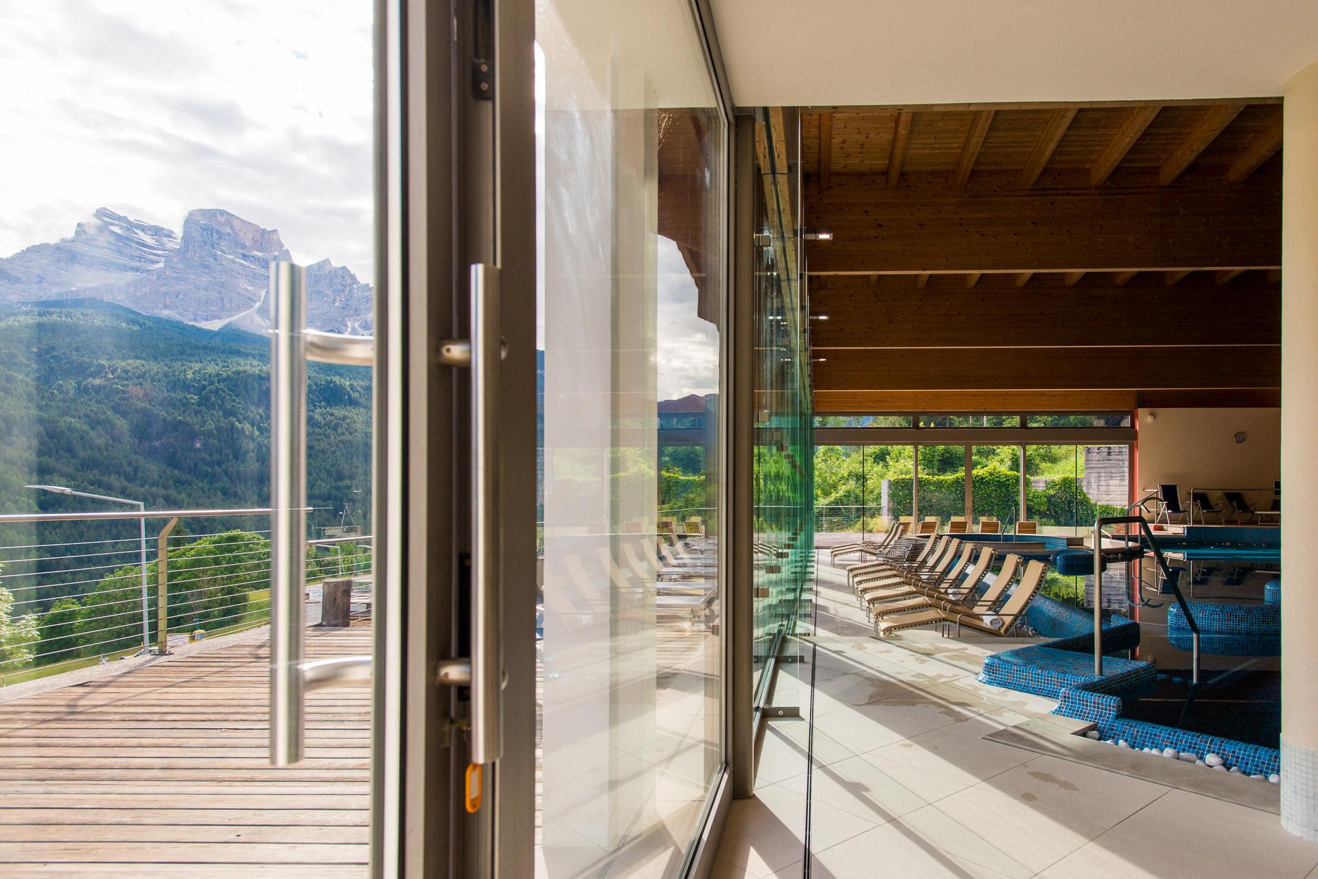 Corte Delle Dolomiti Spa corte spa water & wellness – residence borca di cadore